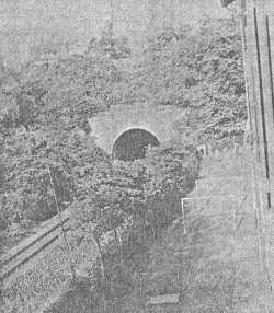 Tunnel der Kraichgaubahn in Bretten